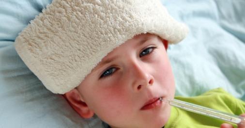 Young Child With Flu