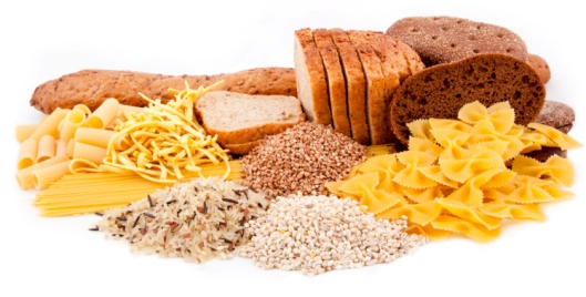 Grains and pasta are full of carbohydrates