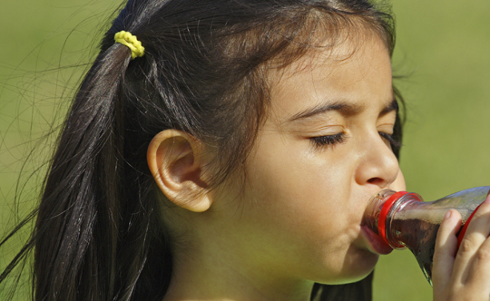 Should children drink diet soda?