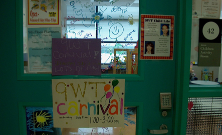 Unit Carnival, Child Life at Texas Chidren's