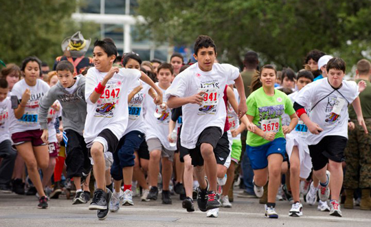 Texas Children's Hospital Kids' Fun Run