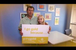 Embedded thumbnail for Going Gold at Texas Children's Cancer Center