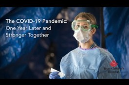 Embedded thumbnail for The COVID-19 Pandemic: One Year Later and Stronger Together