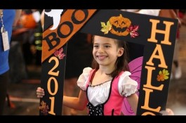 Embedded thumbnail for Halloween on the bridge at Texas Children's Hospital