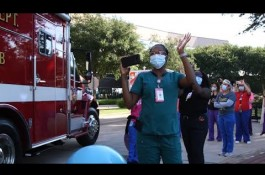 Embedded thumbnail for First Responders Parade honors frontline heroes at Texas Children's Hospital West Campus