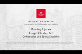 Embedded thumbnail for Medically Speaking - Running Injuries