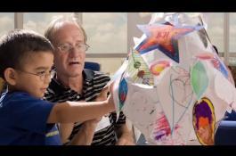 Embedded thumbnail for Arts In Medicine Program at Texas Children's Cancer Center