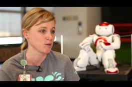 Embedded thumbnail for Texas Children's new robot helps patients during medical procedures