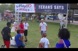 Embedded thumbnail for PLAY 60 at the Park with the Houston Texans