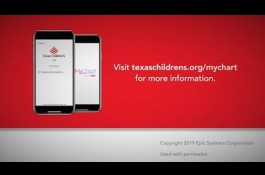 Embedded thumbnail for Texas Children's MyChart Patient Portal