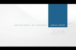 Embedded thumbnail for Texas Children's Department of Surgery 2016 Annual Report