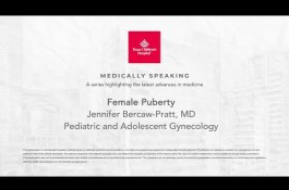Embedded thumbnail for Medically Speaking: Female Puberty