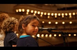 Embedded thumbnail for Carnegie Hall Welcomes Patients and Siblings with Purple Songs Can Fly