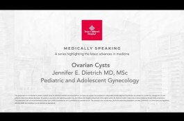 Embedded thumbnail for Medically Speaking: Ovarian Cysts