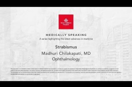 Embedded thumbnail for Medically Speaking - Strabismus