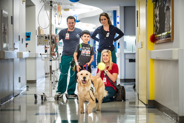 Run Off Insurance >> Animal-Assisted Therapy | Texas Children's Hospital