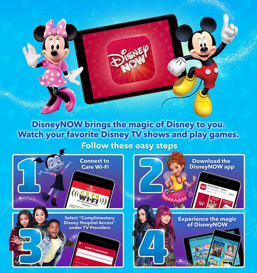 DisneyNOW App | Texas Children's Hospital